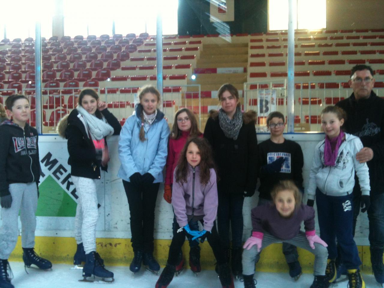 Sortie patinoire janvier 2016