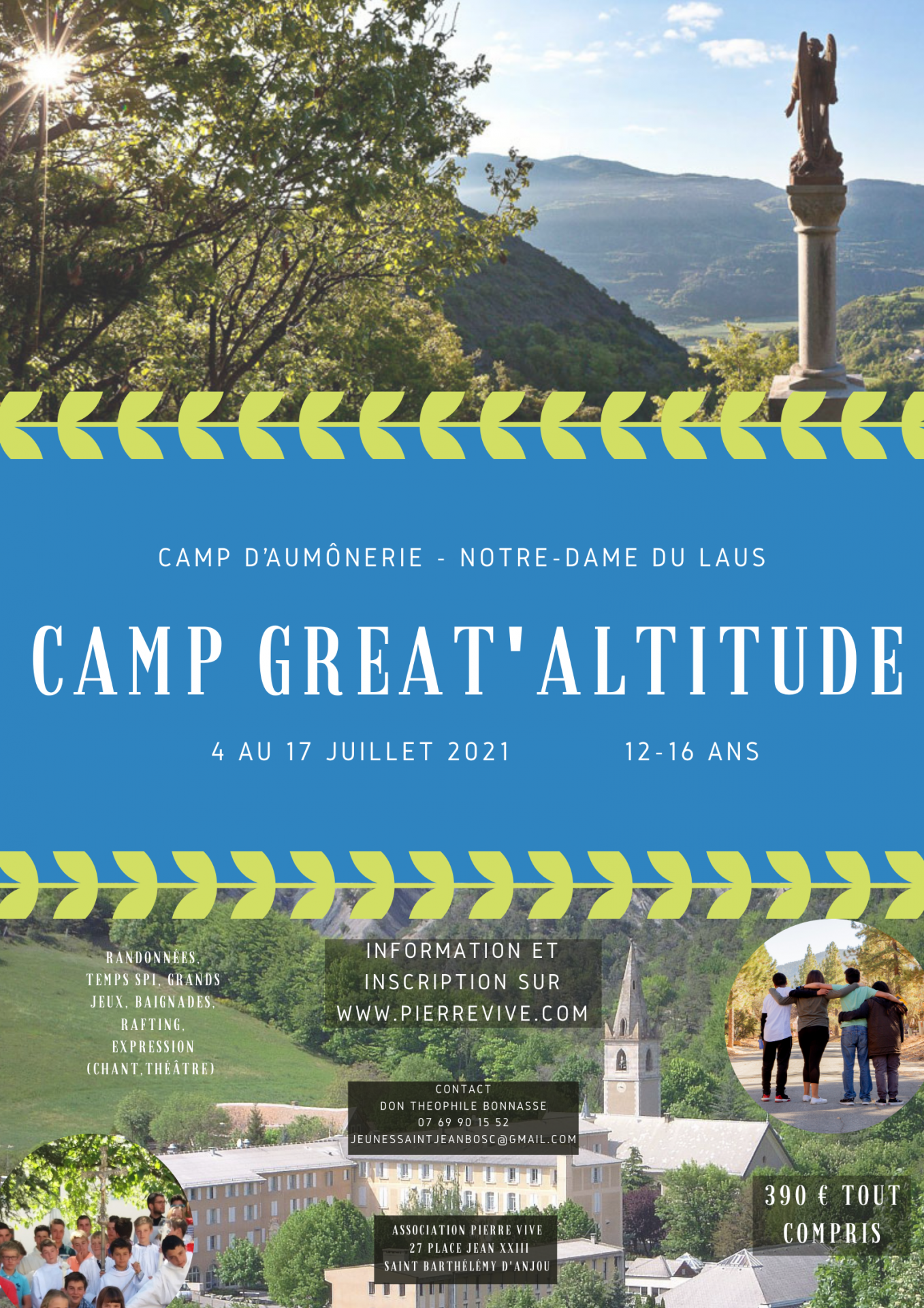 Camp great altitude